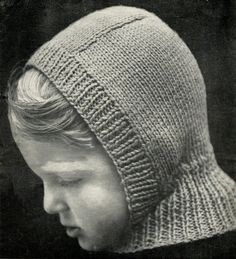 INSTANT Download - BALACLAVA and TOQUE Knitting Pattern - Hats for Men and Boys - dk yarn - Vintage  pdf 0245