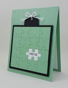 """Handmade Heureux Anniversaire 3D découpage SCRABBLE board carte 6 /""""x 6/"""""""