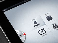 Interface Design iPad app