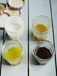 Easy homemade salad dressing ideas | Jamie Oliver recipes Sauce Pesto, Pesto Recipe, Sauces, Cooking Tips, Cooking Recipes, Jamie's Recipes, Avocado Recipes, French Dressing, Salad In A Jar