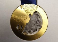 Photo Gallery: Sochi 2014 Winter Olympics and Paralympics medals unveiled Winter Olympics 2014, Winter Olympic Games, Winter Games, Summer Olympics, Olympic Village, Olympic Gold Medals, Olympic Hockey, Team Usa, Fifa World Cup
