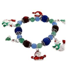 Pugster Christmas Charm Winter Sale Jewelry Bracelet « Holiday Adds