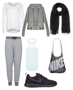 Hijabi Gym Outfit by sheimab on Polyvore featuring polyvore, fashion, style, mbyM, LnA, Topshop, NIKE, Rick Owens, bkr, women's clothing, women's fashion, women, female, woman, misses and juniors