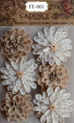 www.uskudarsanat.com Cadence-3D-Dekoratif-Cicekler-FE-001,PR-5371.html