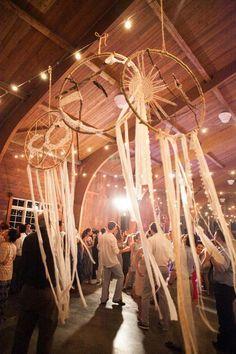 Attrape-rêves, la décoration idéale pour un mariage boho / hippie chic - Inspiration pour un mariage bohème