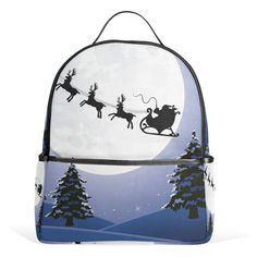 5409bafd6c JSTEL Snowman And Christmas Tree School Backpack 2th 3th 4th Grade for Boys  Teen Girls Kids -- Find out more about the great product at the image link.