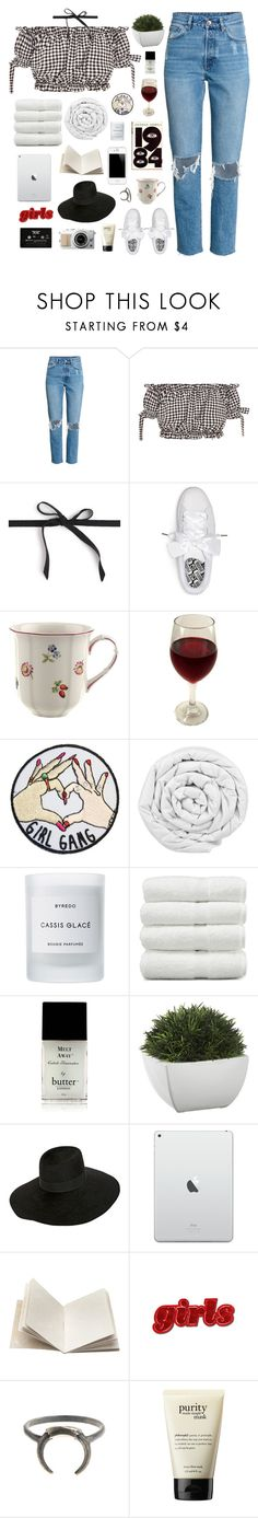 """♡ EASTER"" by thundxrstorms ❤ liked on Polyvore featuring J.Crew, Puma, Villeroy & Boch, ORWELL, Brinkhaus, Byredo, Linum Home Textiles, Butter London, Crate and Barrel and Super Duper"