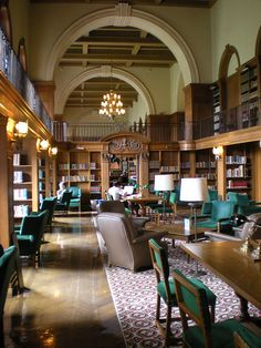 Dartmouth College Library; Tower Reading Room. I'm pinning this from here right now haha