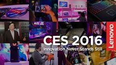 GRAZIE per averci seguito in questa fantastica settimana al #CES2016 di Las Vegas! #LenovoCES #NeverStandStill