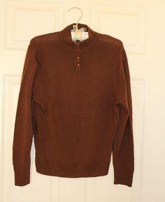 women vintage Jaeger sweater jumper knit Brown  size 10 / 12 / S / M Vintage Shops, Vintage Ladies, Jumper, Men Sweater, Size 10, Turtle Neck, Knitting, Brown, Sweaters