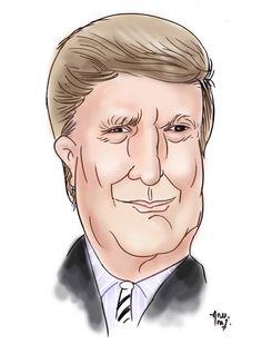 My Cartoons Thoughts: Donald Trump Caricature