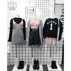 Rosa, cinza e preto. Quer combinação melhor?!