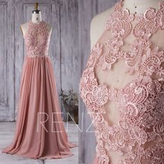 Hey, I found this really awesome Etsy listing at https://www.etsy.com/listing/400304875/2016-dusty-rose-bridesmaid-dress-lace - evening dress shops, going out maxi dresses, floral dresses for women *ad