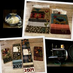 Primitives by Lynda - Lynda Hall     A wonderful pattern designer who blends fabric and wool together in her quilt designs.