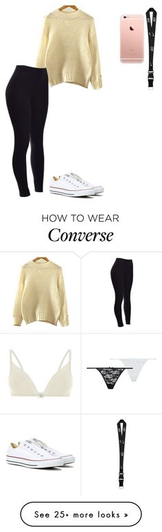 """Untitled #344"" by leisharomano on Polyvore featuring Accessorize, Converse and NIKE"