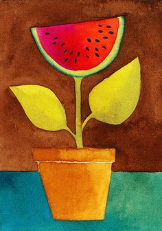 Watermelon Plant...what kind of plant will you grow?