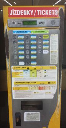 Metro Ticket Machine, Prague, Czech Republic