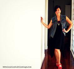 betty black dress casual