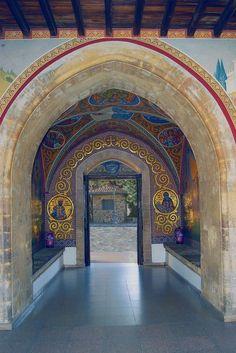 Kykkos Monastery, Cyprus entrance.