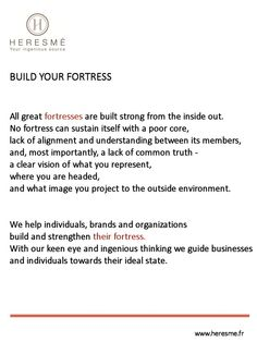 Build your fortress