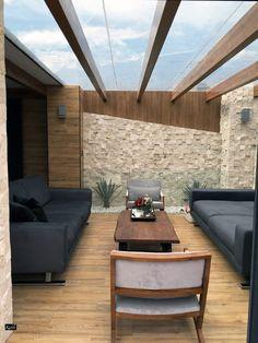 Pergola Ideas For Patio Patio Interior, Interior And Exterior, Interior Design, Outdoor Spaces, Outdoor Living, Outdoor Decor, Indoor Outdoor, Glass House Design, Sunroom Decorating