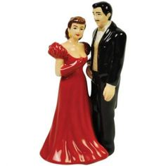 Scarlett and Rhett Gone with the Wind Wedding Cake Topper Figurine    @Caitlin Burton Burton Roach