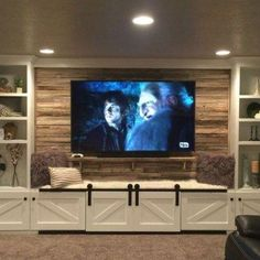 39 Built-in Bench for Your Basement Design Ideas Built-in bench for your basement design ideas 18 Basement Guest Rooms, Modern Basement, Basement House, Basement Walls, Basement Ideas, Basement Designs, Basement Band, Basement Fireplace, Basement Layout