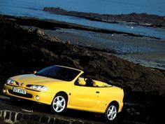 Renault Magane Cabrio, Yellow