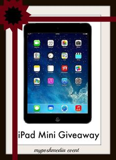 Enter to #win the iPad Mini Holiday #Giveaway Event - Ends 12/14 - Davids DIY