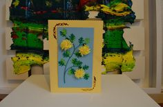 Quilling Hand Made Card 0103 by ArtLivingArt on Etsy, Quilling, Landscapes, Cards, Handmade, Stuff To Buy, Etsy, Bedspreads, Paisajes, Scenery