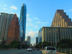 View of downtown ATX from the Congress Ave. Bridge