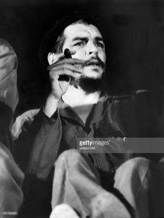 ERNESTO 'CHE' GUEVARA (1928-1967). Argentine-born revolutionary leader and politician. Photographed in Cuba, 1964.
