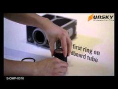 Cardboard Smartphone Projector / DIY Mobile Phone Projector Portable Cinema - YouTube