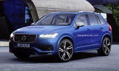 Proposition pour le #Volvo #XC40 qui devrait voir le jour dans les années à venir afin de concurrencer les X1, Q3 et GLA.