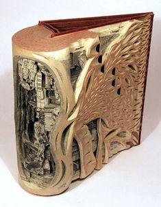 Brian Dettmer's insanely creative Book Autopsies