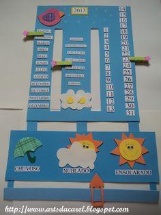 painel do tempo ile ilgili görsel sonucu Montessori Activities, Kindergarten Activities, Activities For Kids, Preschool Classroom, Classroom Decor, Classroom Activities, Kids Calendar, School Calendar, Class Decoration