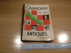 """Unitt's Canadian price guide Antiques & Collectables #1, it measures 6"""" x 8 1/2"""" x 3/8"""", Softbound 200 pages, asking $5."""