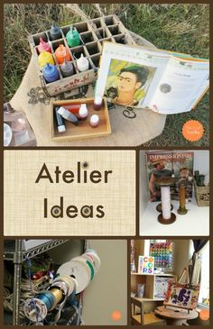 One of my favorite parts of the Reggio Emilia Approach is their dedication to the atelier. Today I want to feature some local atelier ideas...