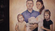 """Artist Elena Fursova  """"Family Portrait"""""""