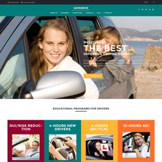 Buy Driveme - Driving School WordPress Theme by Jthemes on ThemeForest. What customers said about Driveme Driveme – Driving School WordPress Theme has been custom designed to suit any type. Joomla Templates, Wordpress Template, Wordpress Theme, Internet Marketing, Online Marketing, Graphic Design Pattern, Design Web, Professional Website, Business Professional
