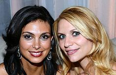 Morena Baccarin and Claire Danes - Homeland