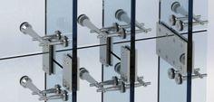 glass fin facade - Google Search