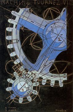 Machine Turn Quickly by Francis Picabia, 1916-1918.
