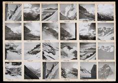 Contact Sheet Print: Swiss Mountain Peaks – Magnum Photos