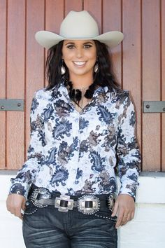 Kitty Forde 'Kate' shirt $99.95. available in sizes XS TO 5XL FROM www.rockymavericks.com.au