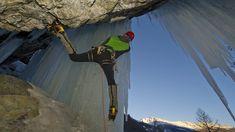 Eisklettern in Heiligenblut hängend Klagenfurt, Skiing, Ice Climbing, Ski