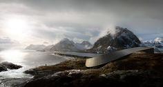The Impressive Lofoten Opera Hotel by Snøhetta #architecture ☮k☮
