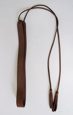 Anjelica belt with tassel