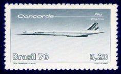 Concorde stamp Brasil