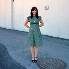 anna dress || Sewaholic Pattern by By Hand London but can't pin from that site
